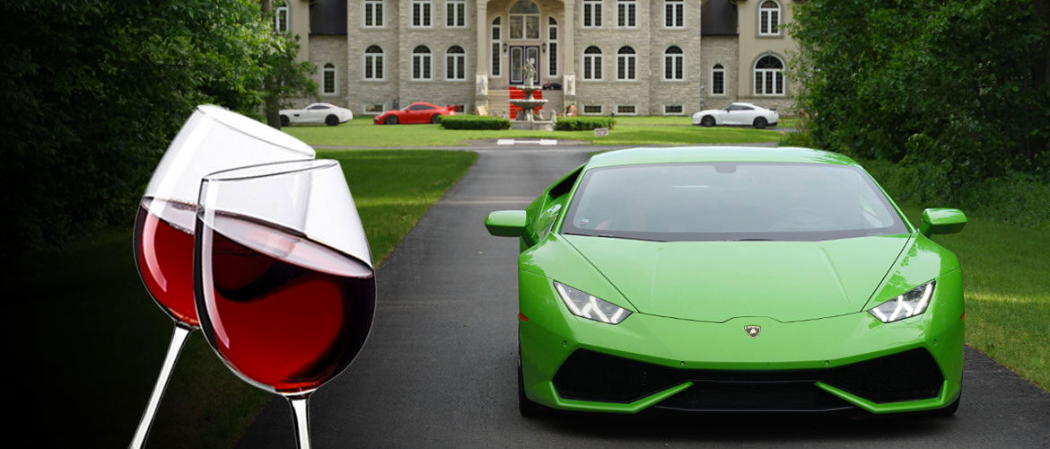 Niagara Falls Exotic Car & Supercar Wine Tours