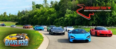 Race Exotic Cars & Supercars in Ontario